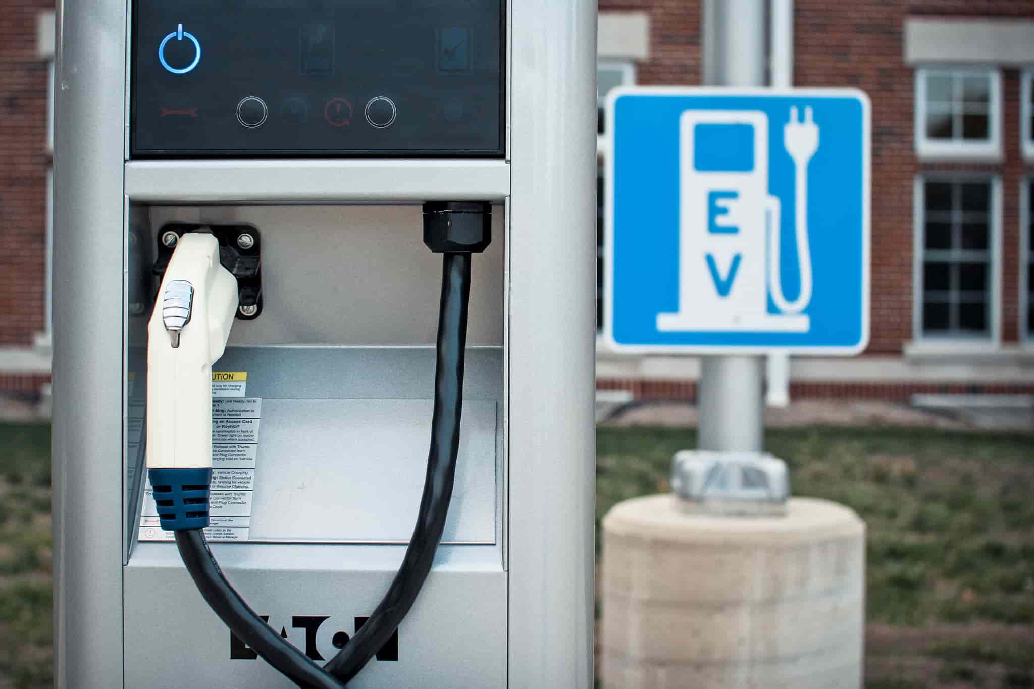 Pump electric-cars