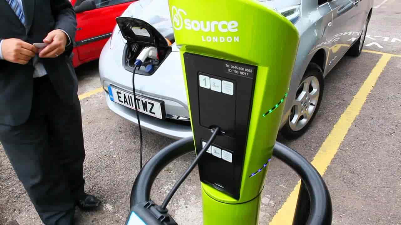 Pumps electric car