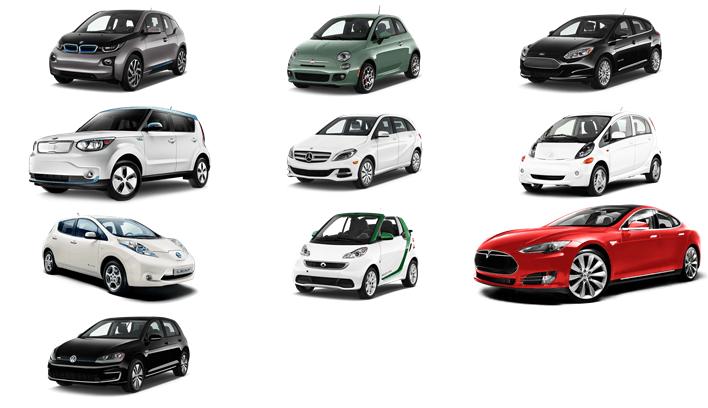10 รถยนต์พลังไฟฟ้าที่ประหยัดที่สุด