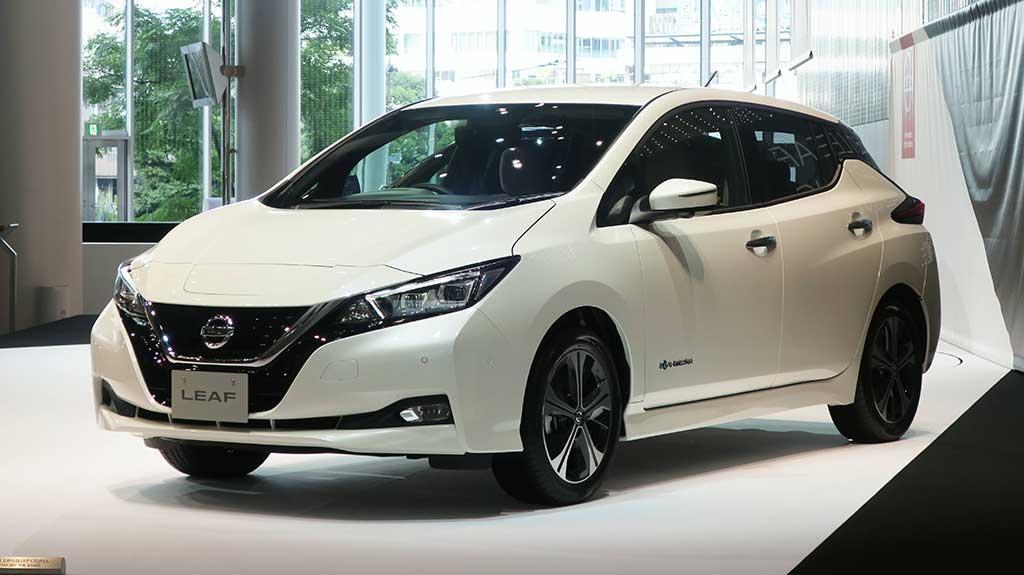 Nissan Leaf รถยนต์ไฟฟ้าใหม่ล่าสุดที่จะเปิดตัวในปี 2018